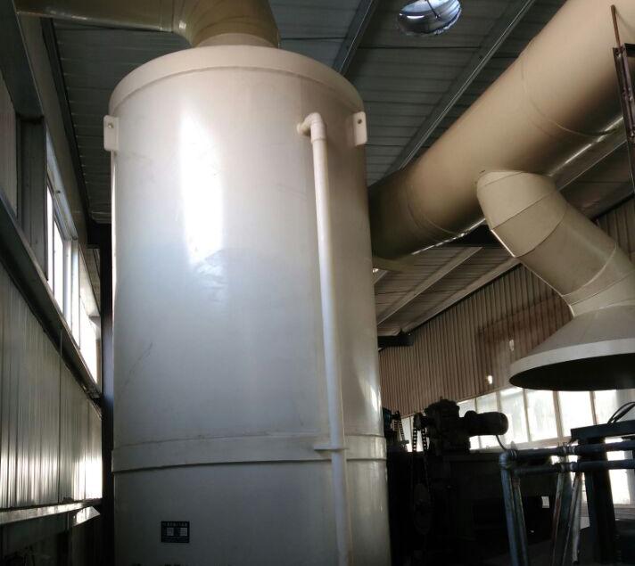 废气吸收塔现场工程