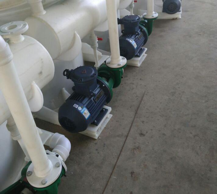 水喷射真空泵机组一排