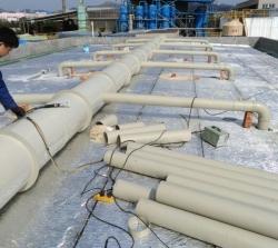 废气通风管道安装